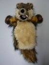 Handpuppe Wolf Wanda